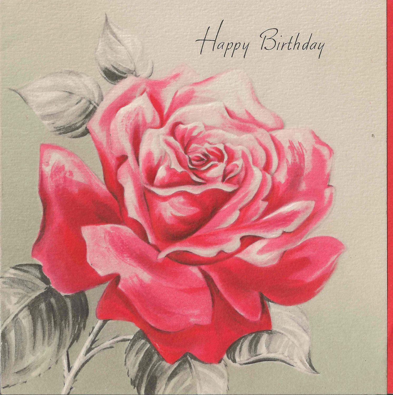 Tiny Card Collection 1945 Vintage Hallmark Happy Birthday Card