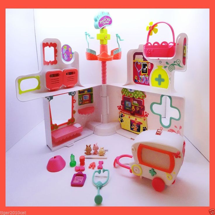 littlest pet shop rescue tails center playset - Google Search