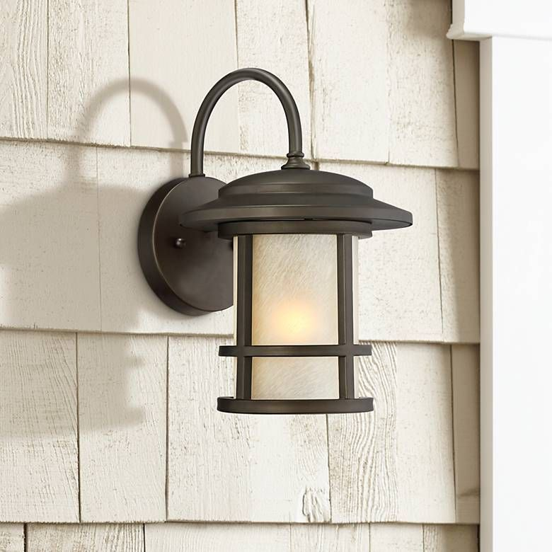Cressona 12 High Oil Rubbed Bronze Outdoor Wall Light 9h828 Lamps Plus Outdoor Wall Light Fixtures Wall Lights Modern Outdoor Wall Lighting