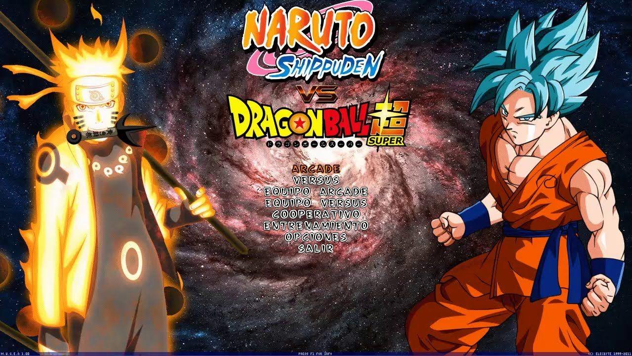 Dragon Ball Super Vs Naruto Shippuden Mugen [ DOWNLOAD FREE