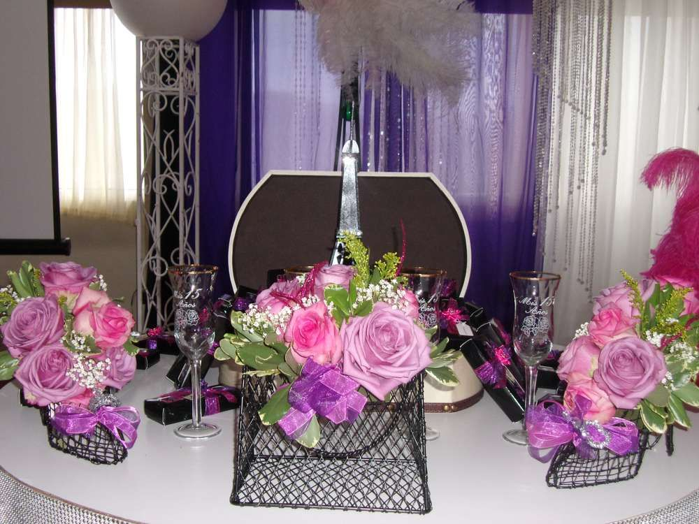 Paris quincea era party ideas quinceanera ideas for Paris themed decor