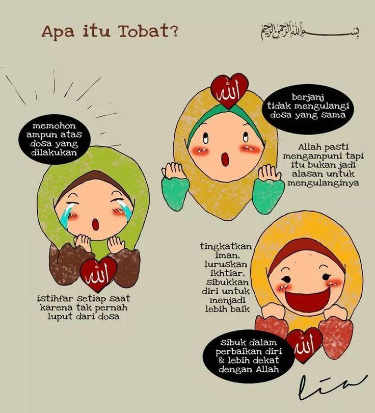 Gambar Kartun Kata Kata Islami   colouring mermaid in 2020   Islamic cartoon, Ramadan kids ...