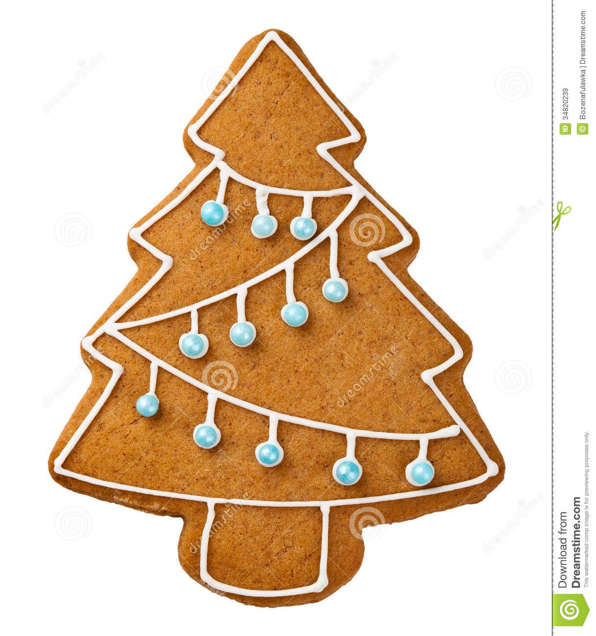 Gingerbread Tree Royalty Free Stock Images - Image: 34820239