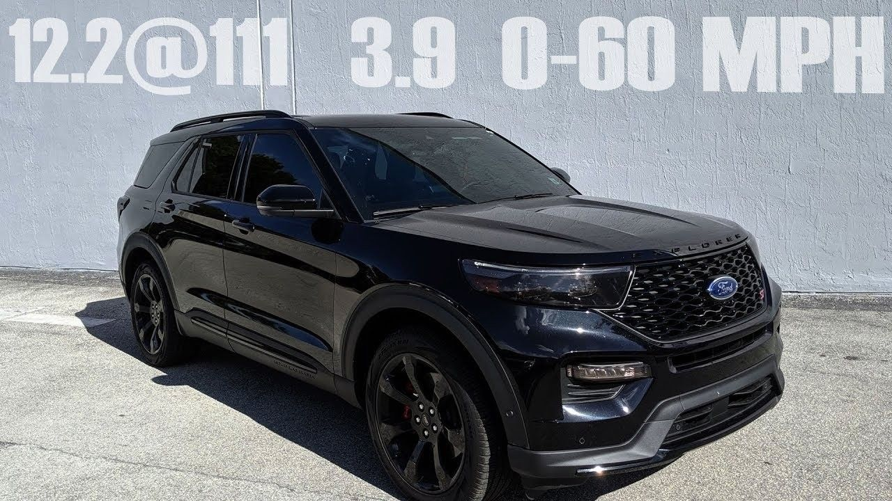 Ford Explorer St 2020 New Engine in 2020 Ford explorer