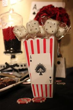 casino night decorations Google Search Casino Night Pinterest
