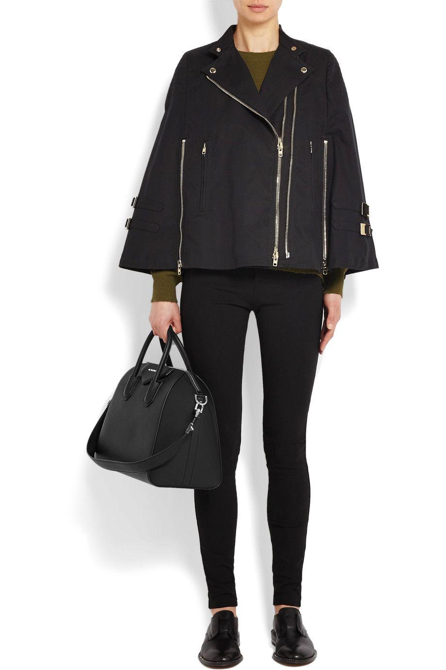 7c8c097708d Givenchy   Medium Antigona bag in black leather   NET-A-PORTER.COM ...