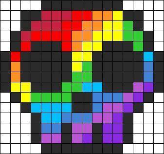 Dessin Arc En Ciel Pixel