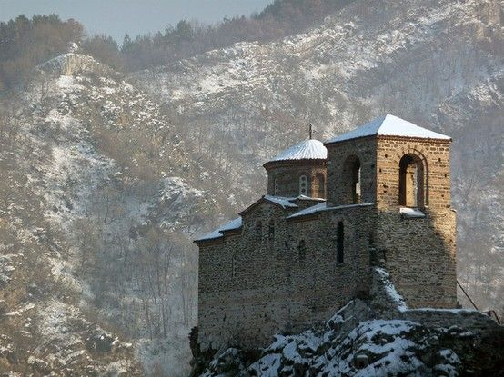 Church of the Holy Mother of God at Asen's Fortress  |  Asenovgrad, Bulgaria (Eastern Europe)