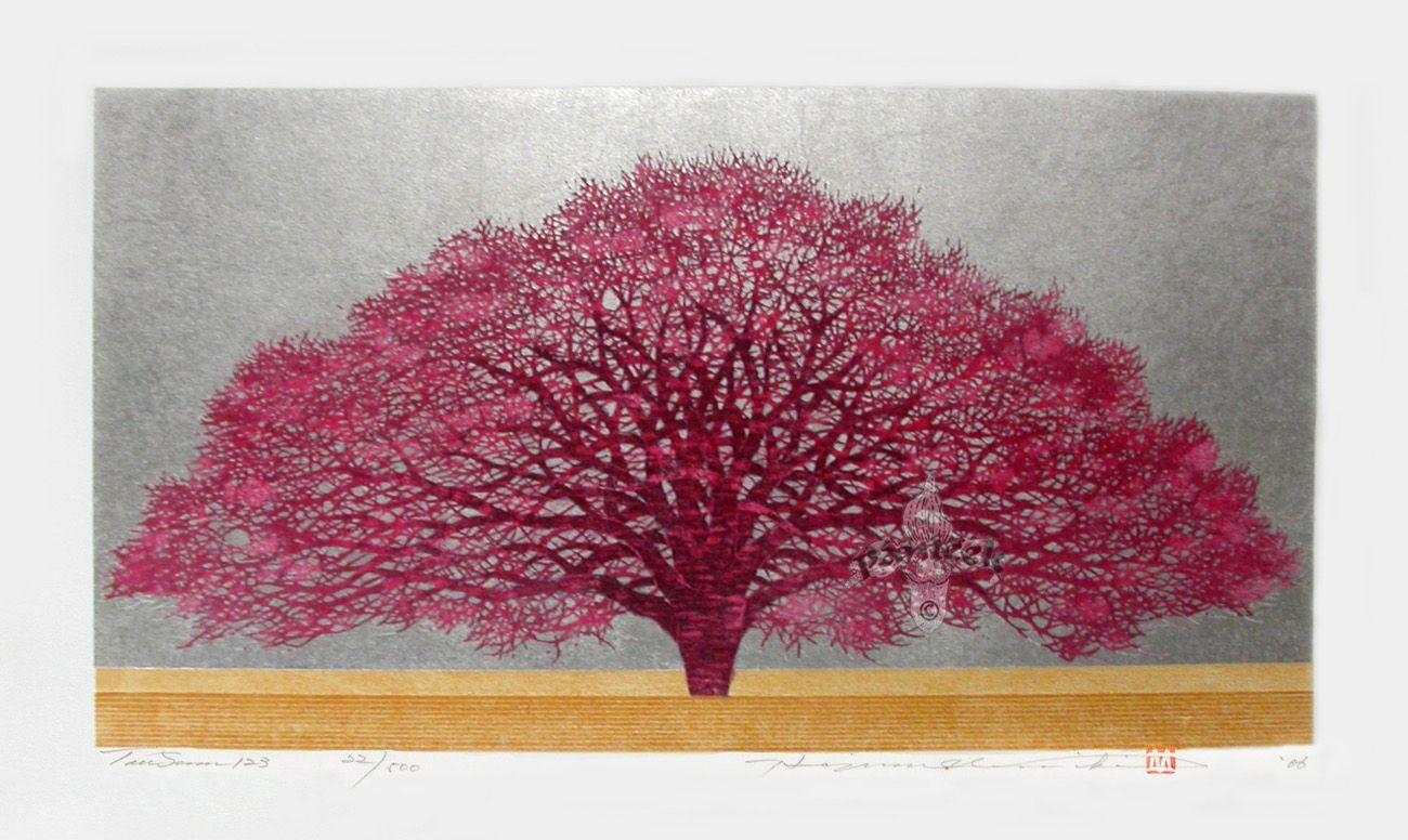 Japanese Sosaku Hanga Tree Prints