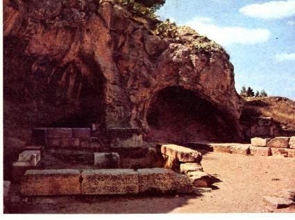 Gnostic Gallery ONE..as megalithic sites slowly morphed into temple precincts, the underworld remained in close and intimate relationship with more formal structures...( The Cave of Hades at Eleusis )