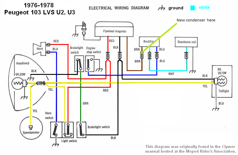 Peugeot Wiring Diagrams Moped Wiki Peugeot Diagram Electrical Wiring Diagram