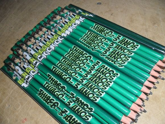 Lápis Personalizado - Ben 10
