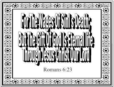 Romans 6 23 Coloring Pages Childrens Gems In My Treasure Box