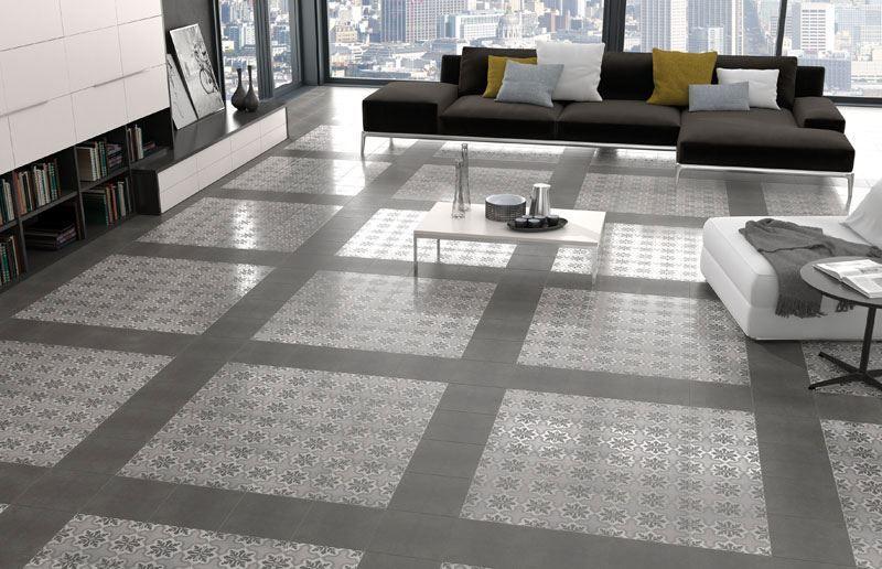 Keramische patroontegels 25x25 met fijn ruzafa patroon 13