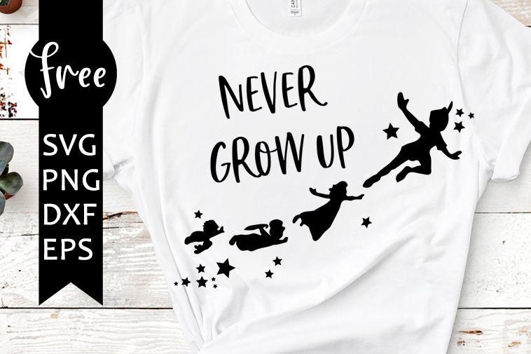 Photo of Niemals erwachsen werden svg free, disney svg, peter pan svg, sofortiger Download, Shirt Design …
