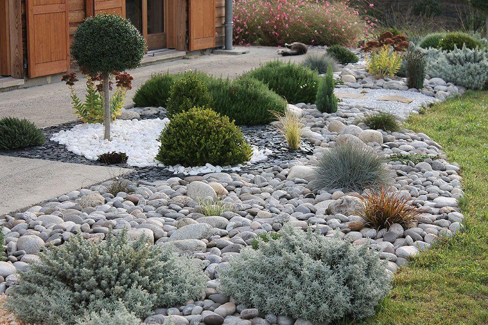 Jardin zen | Jardin mineral, Idée aménagement jardin et ...