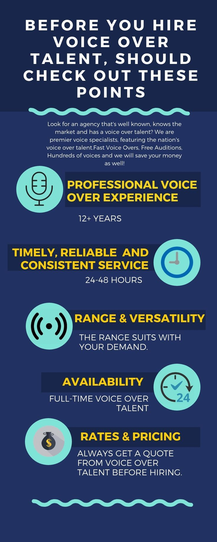 Hire a VoiceOver actor at Professional