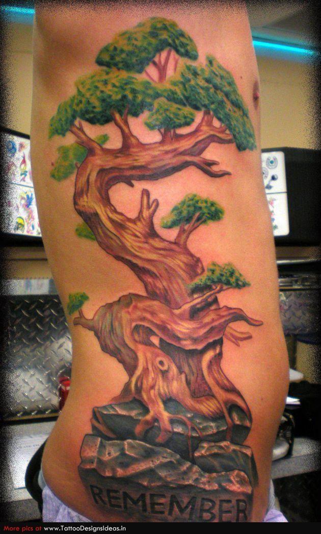 Bonsai Tattoo Meaning: Tatto Design Of Tree Tattoos