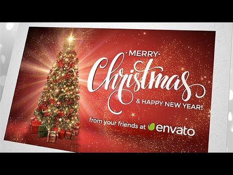 Christmas Card Greetings After Effects Template Christmas Greeting Cards Christmas Cards Christmas Greetings