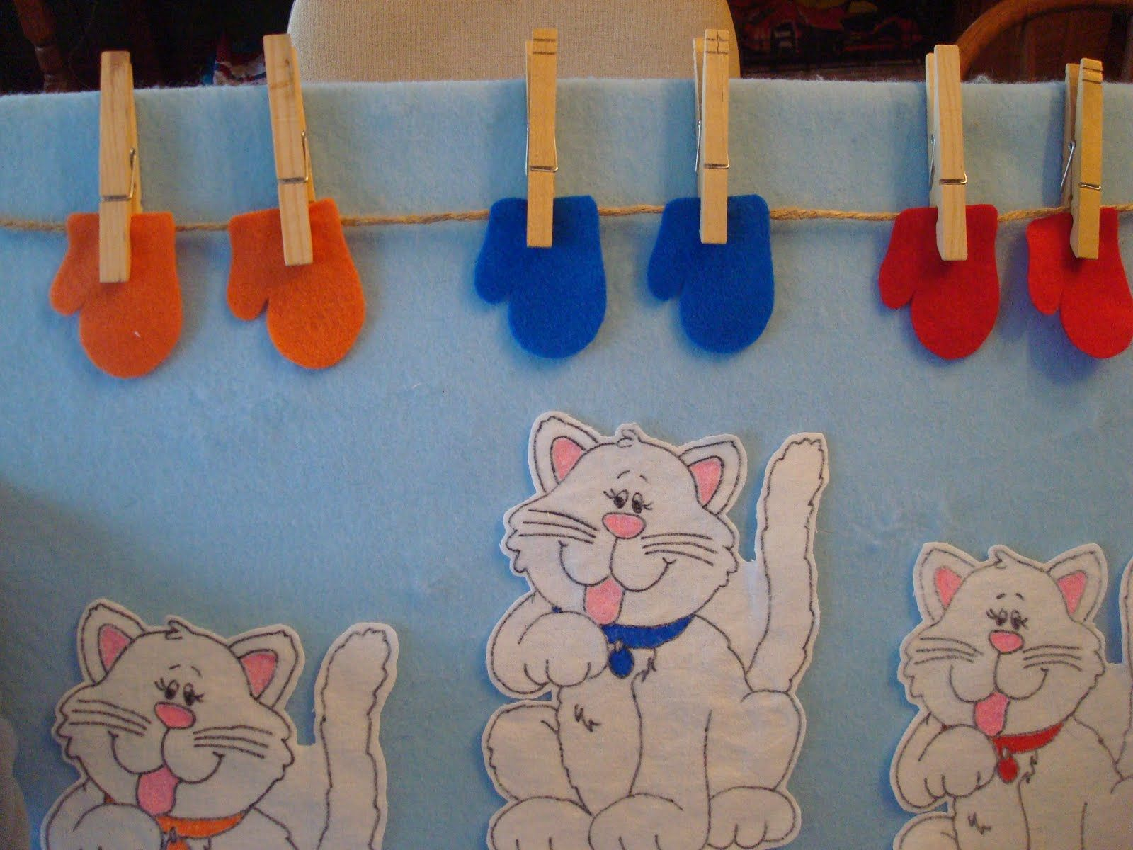 I Love Mittens And Today Is A Mitten Day So Here Are My Three Little Kittens Who Lost T Nursery Rhymes Activities Nursery Rhymes Preschool Preschool Crafts