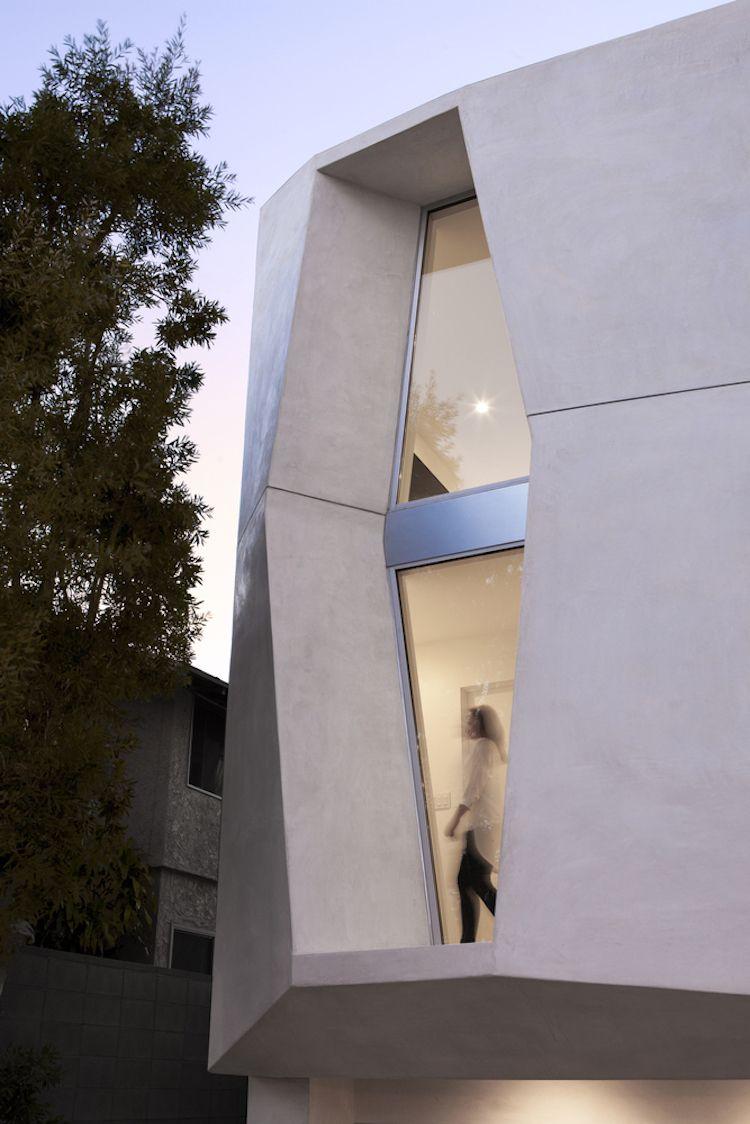 Farbe Weiß für innen und außen – modernes Haus in Kalifornien ...