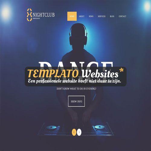 Een website voor je muziekbedrijf is zo gebeurd