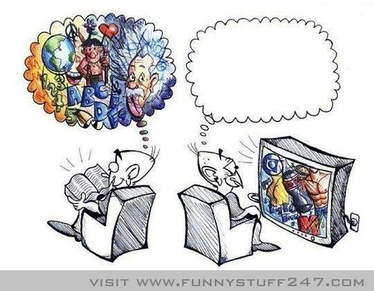 Reading Vs Television