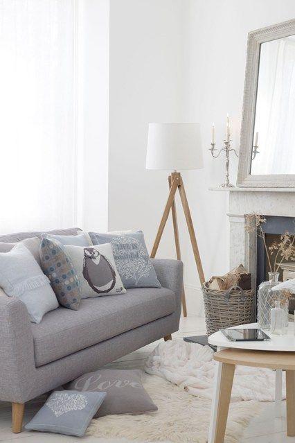 Nordic Winter Living room, Blog et Design