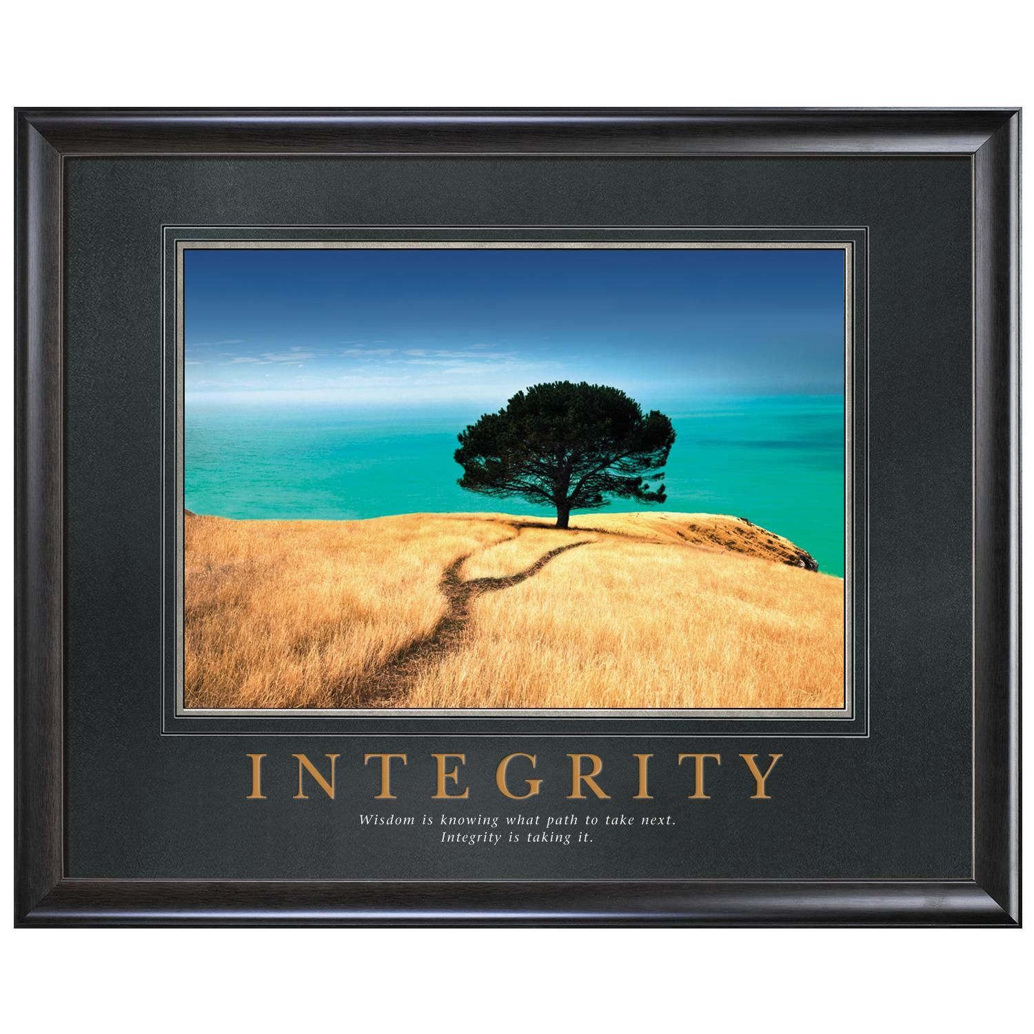 Integrity Tree Motivational Poster | things to THINK ABOUT ...