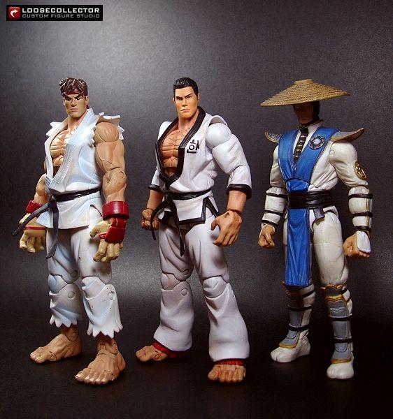 Baek Doo San Tekken Custom Action Figures Action Figures Action Figures Collection