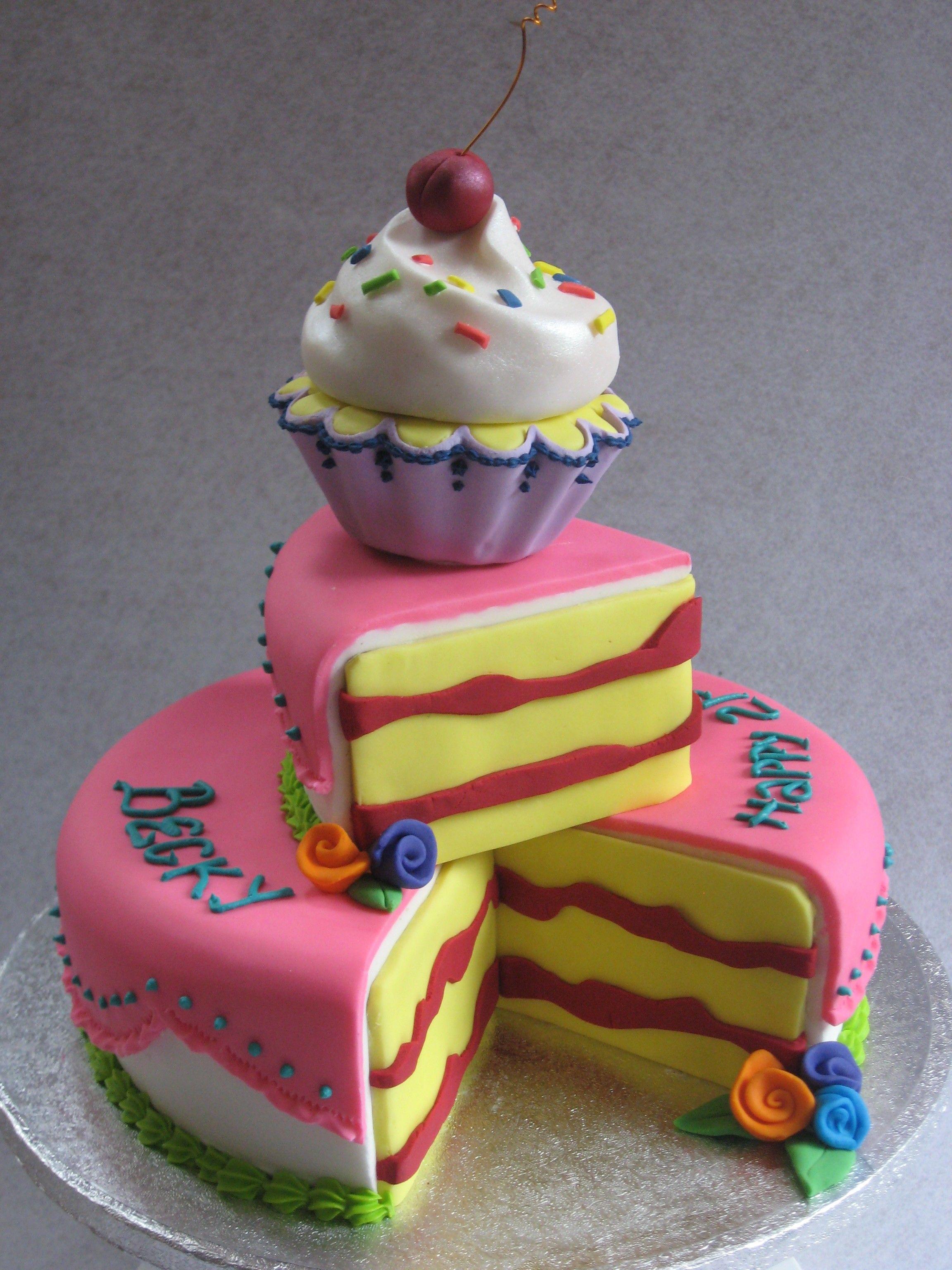 21st Birthday 'Cartoon' cake Cake, Birthday cake