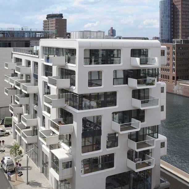 Bauhaus Inspired Apartment Building