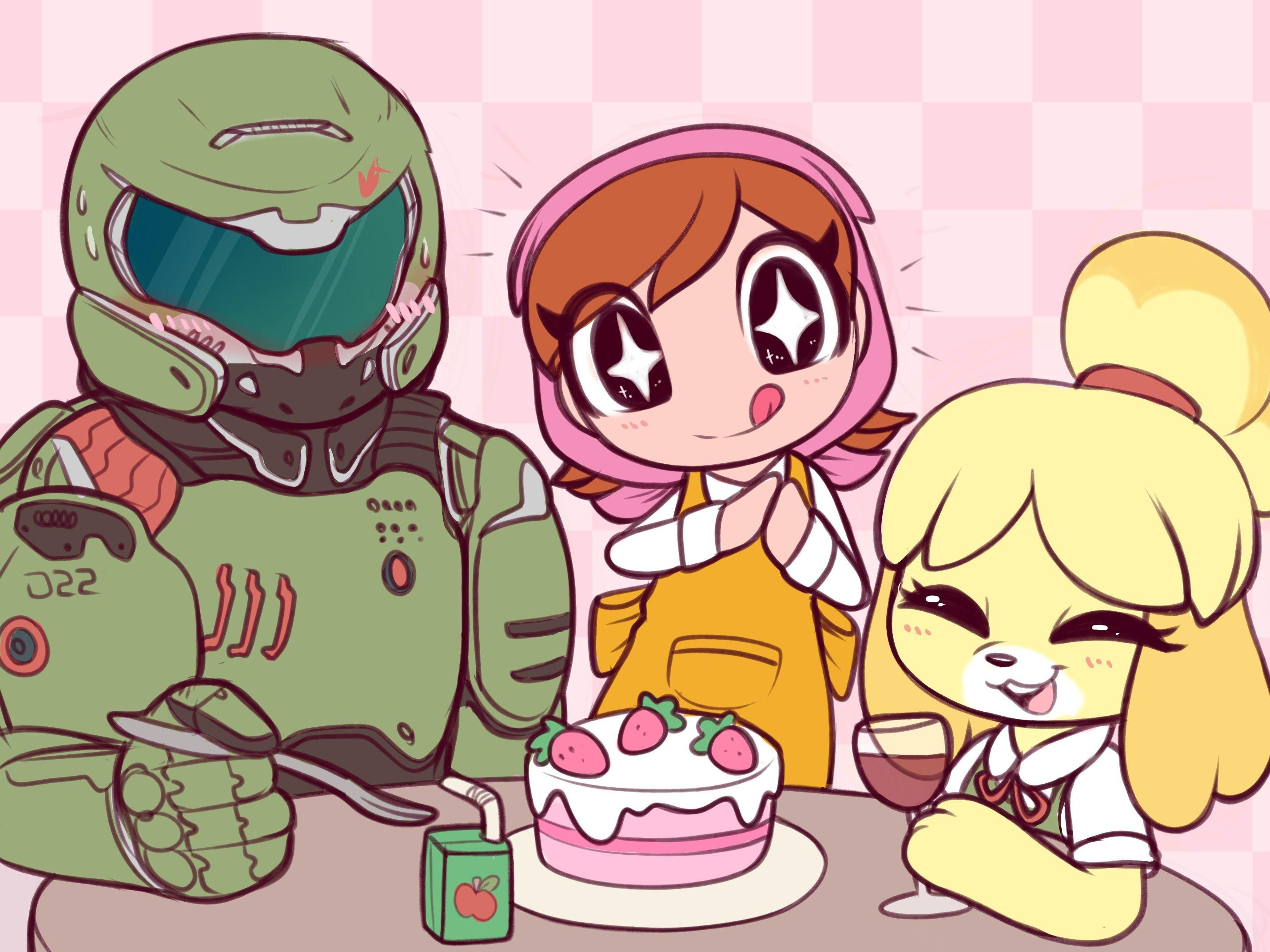 Cooking Mama, Doom, and Animal Crossing all coming out in