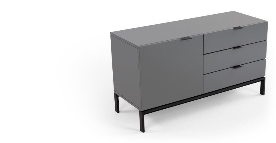 Marcell Compact Sideboard, Grey | made.com