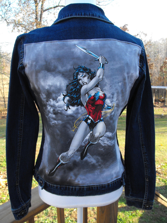 Woman Denim Jacket wonder woman denim jacket