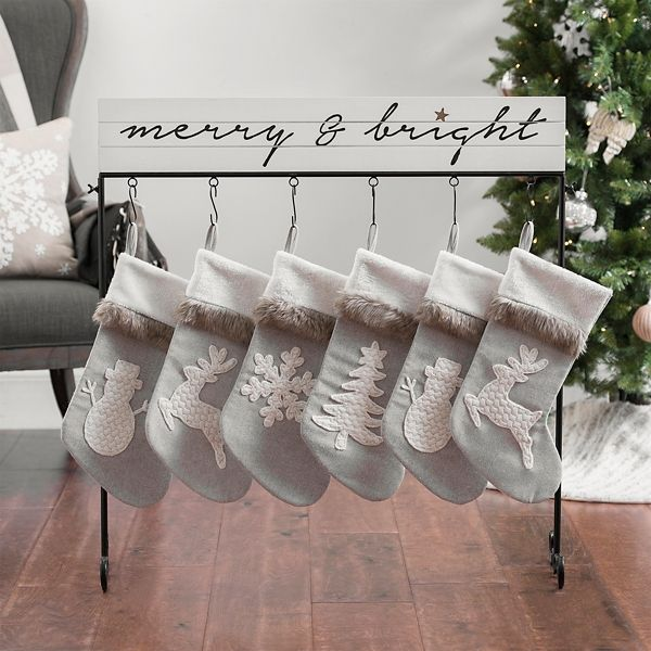 6cad9d30914 Red Monogram Christmas Mini Stocking A-Z (Assorted Styles) - Wondershop™