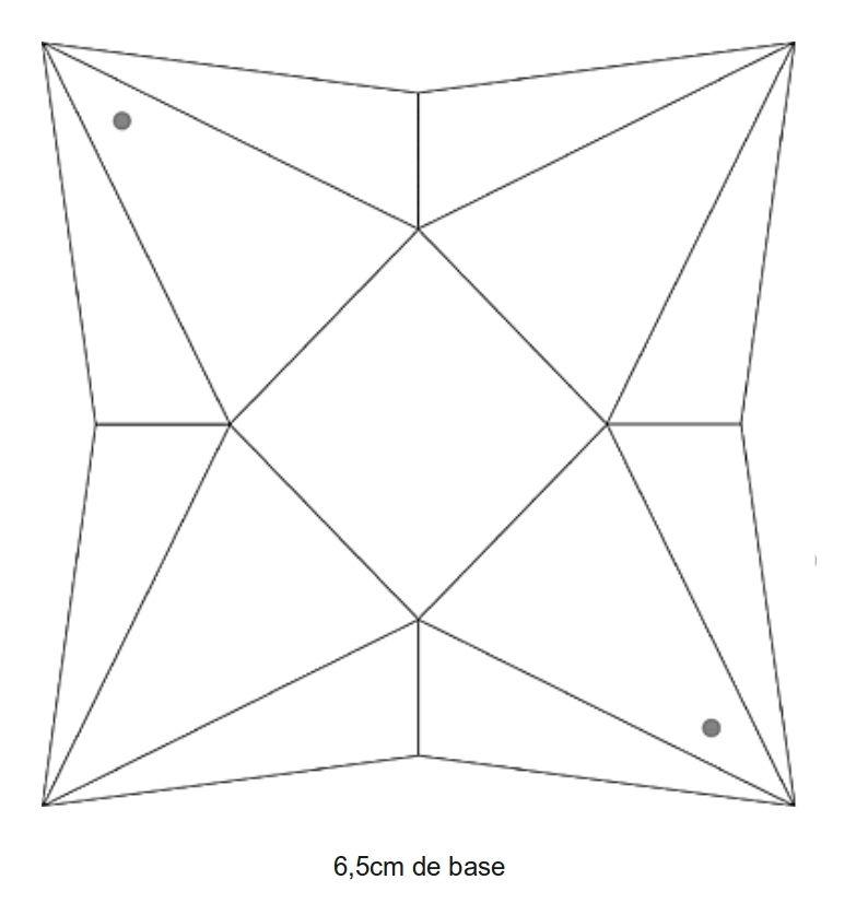 recup de sherwood: boite pyramide en papier | boîtes à imprimer