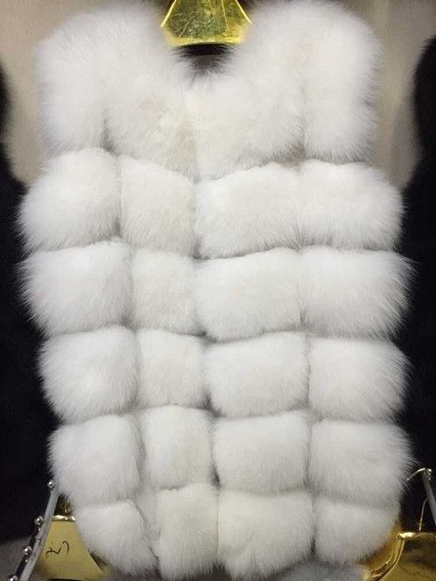2016 real fur coat for women luxury fox long part mainly suitable for new vest - throughout the Fox fur