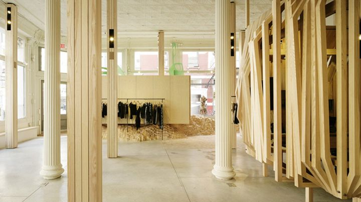 Isabel Marant boutique by Nicolas André, New York store design