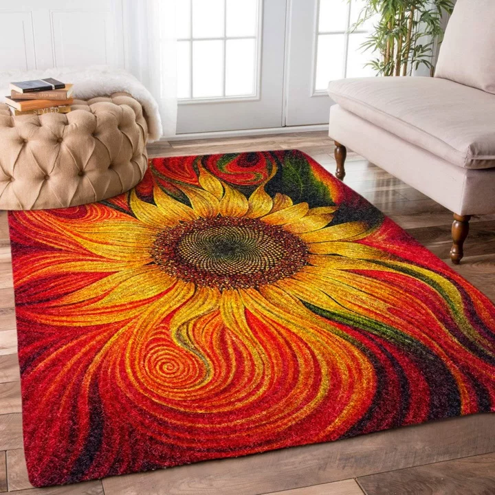Pin By Susanne Moore On Rugs Rugs Round Carpets Decor #sunflower #rug #for #living #room