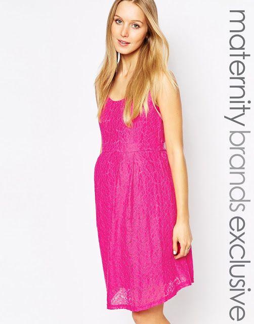 Bonitos vestidos para embarazadas de fiesta   Moda para fiesta ...