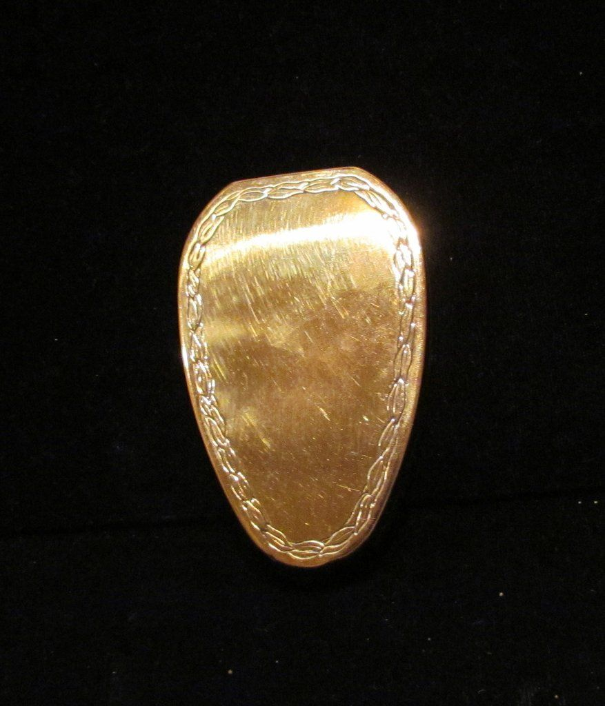 1917 Karess Woodworth Compact Vintage Powder Rouge Mirror Compact Fiancee…