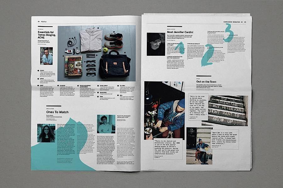 תמונה קשורה Magazine layout, Editorial design, Design