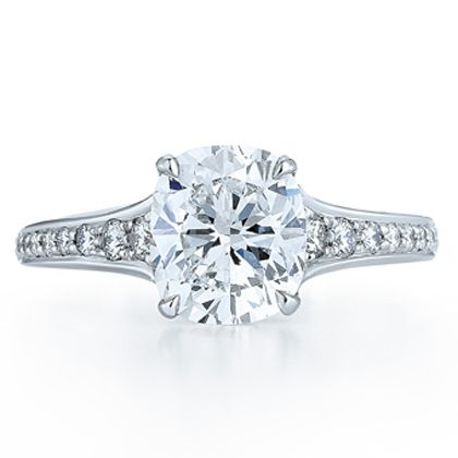 1.32Ct Cushion Novo Design (1ct centre diamond, .32 channel diamonds) Parker diamonds Melbourne