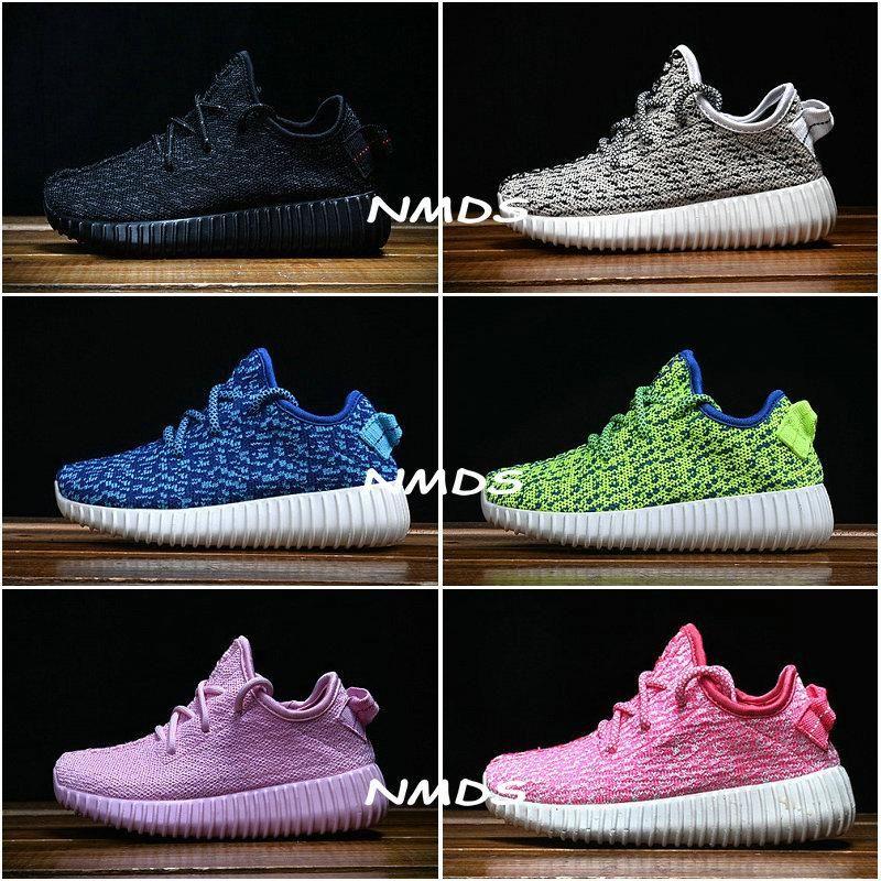 Kids Adidas Yeezy Boost 350 Turtle Dove Pirate Black Moonrock Oxford Tan Pink Boy Girls Running Shoes Children Kanye West Yezzy 350 Yeezys White Running Shoes Womans Running Shoes From Nmds, $105.45| Dhgate.Com