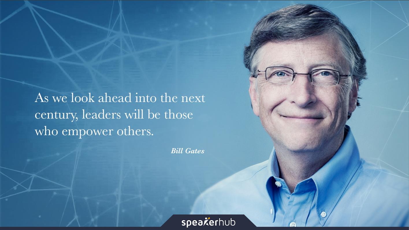 Bill Gates Quote In Speakerhub Presentation Bill Gates Quotes Outing Quotes Quotes