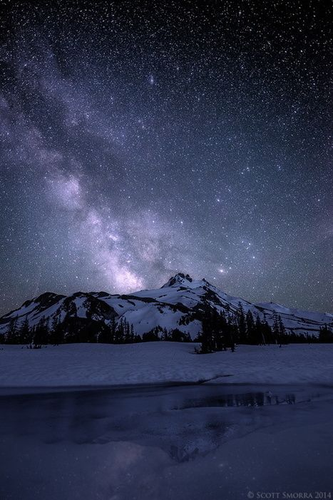 Open Your Eyes And Really See Stars >> Wandering Stars Scott Smorra Mt Jefferson Wilderness Oregon