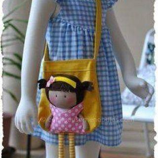TEL VE İP İLE BEBEK YAPMA #dollscouture