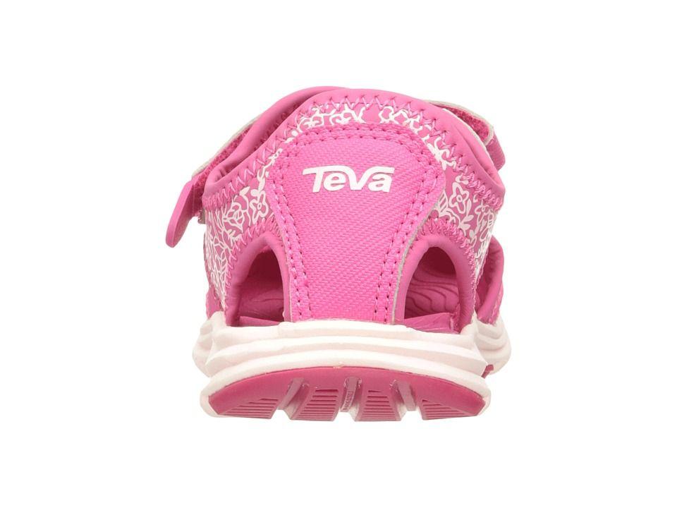 f411f8fe1 Teva Kids Tidepool Sport (Toddler) Girls Shoes Pink White Print
