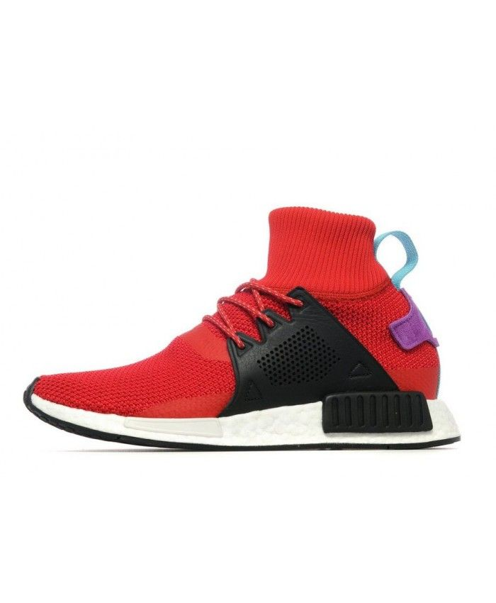 sneakers for cheap e5862 29228 Adidas NMD XR1 Winter Red Black Shoes UK